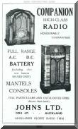 Companion Radio advertisement from 1936. Click for full size picture.