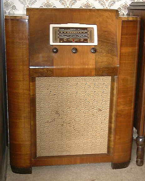 Sheffield Console Radio