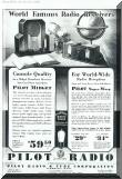 Advertisement for 1931 Pilot Radios.